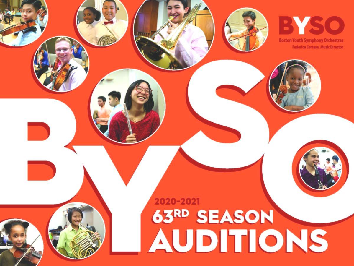 BYSO Audition 2020-2021Registrationオープン